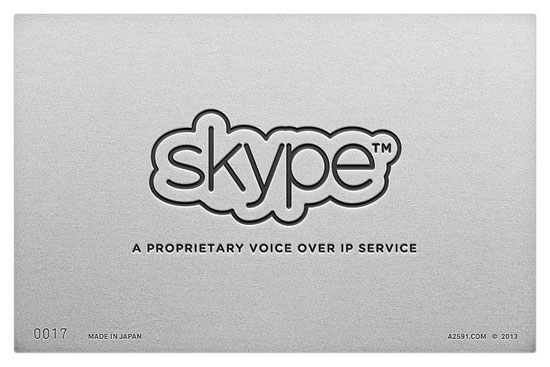 Skype , logo Made in Japan