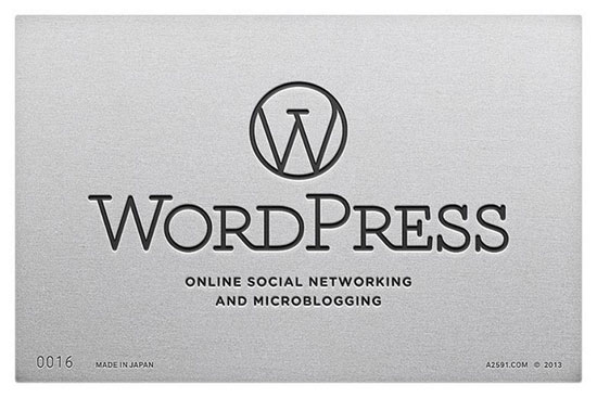 Wordpress , logo Made in Japan