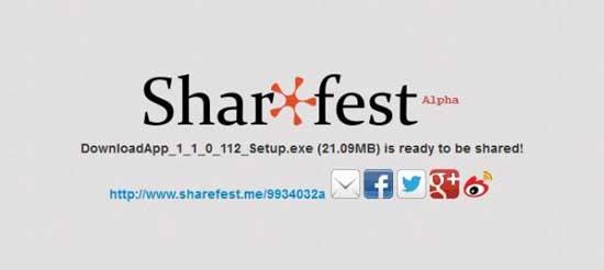 Sharefest - Firefox 22