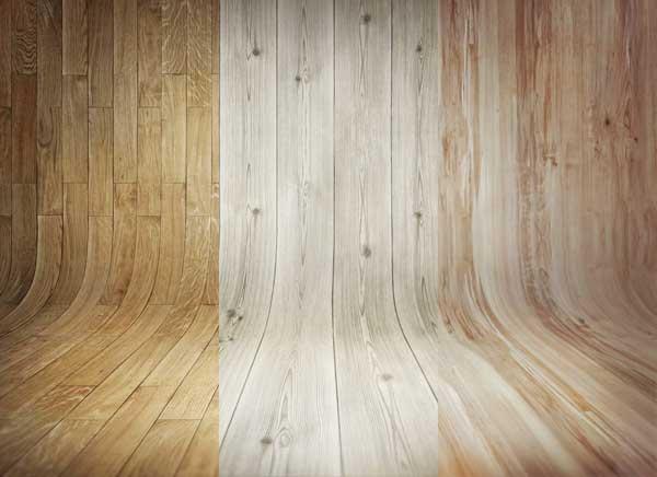 Fondos curvos de madera gratis
