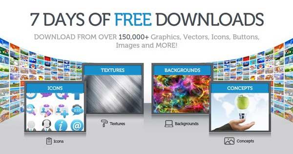 7 días imágenes gráficos gratis