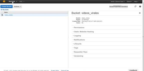 Amazon Bucket videos virales - services