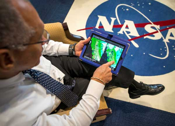 aplicación de la NASA para iPad Images of Change