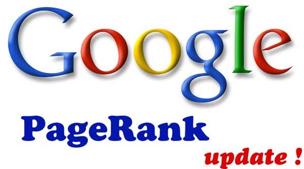 Actualización de Google PageRank diciembre de 2013