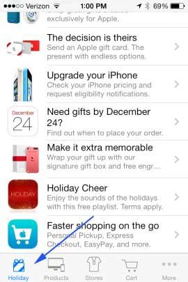 iPhone, canciones de Navidad gratis