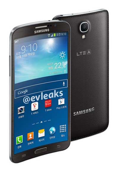 Smartphone curvado de Samsung GALAXY ROUND