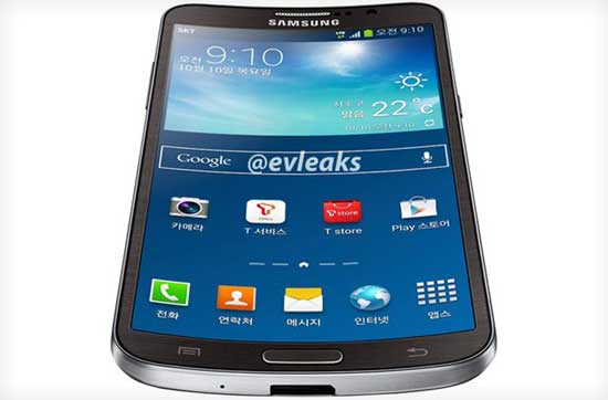 Smartphone curvado de Samsung