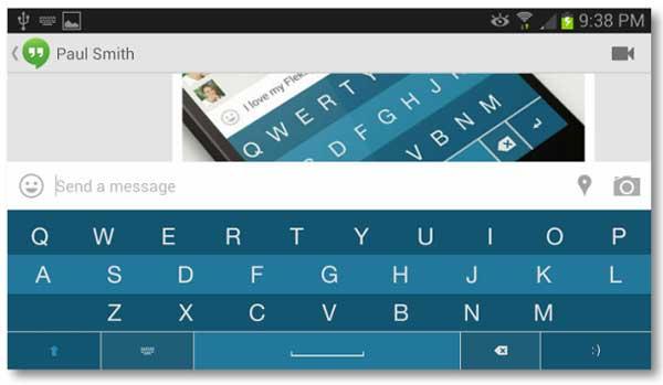 teclado para Android Flesky