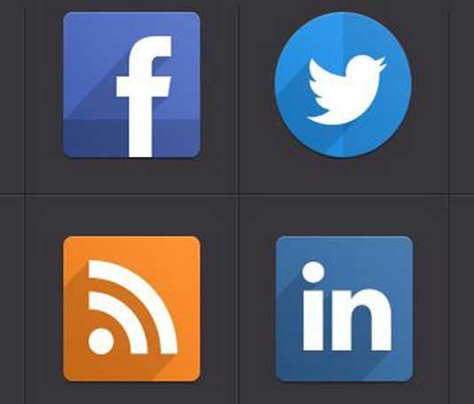 iconos de diseño plano