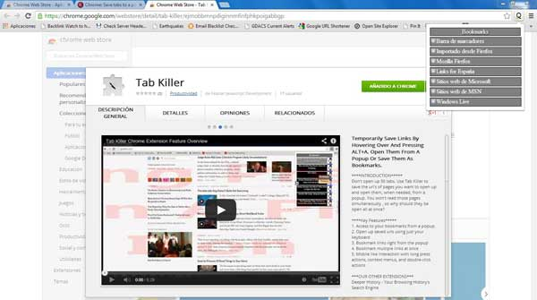 Tab Killer