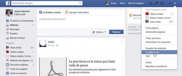 Restringir usuario en Facebook