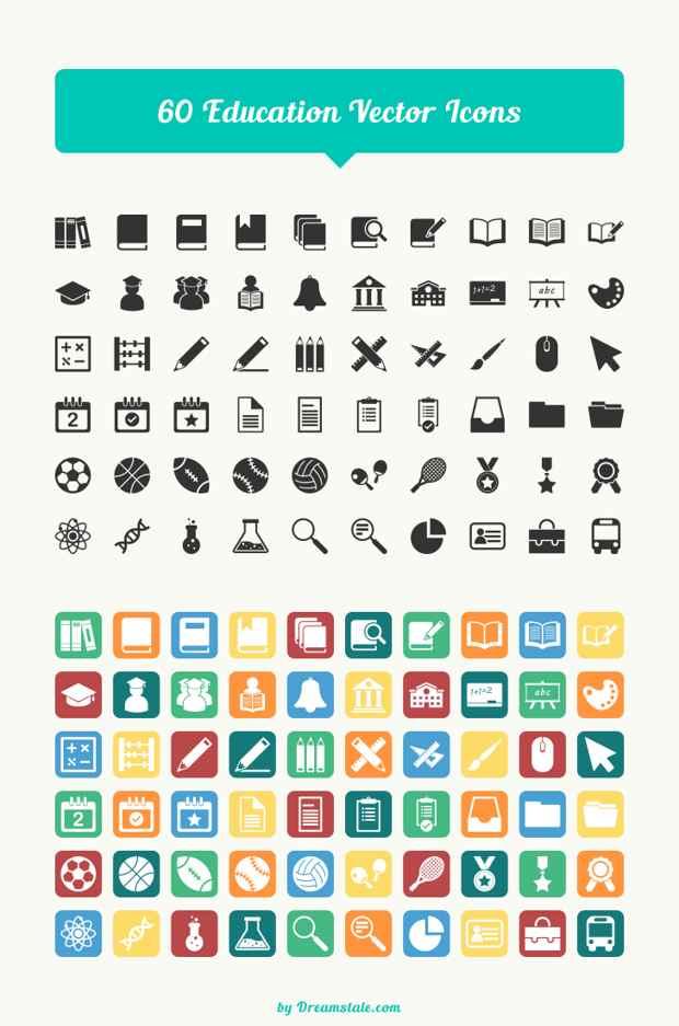 iconos gratis de educación