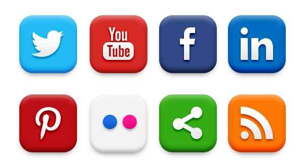 iconos sociales para Wordpress sin plugin