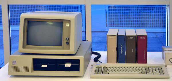 primer PC  de IBM