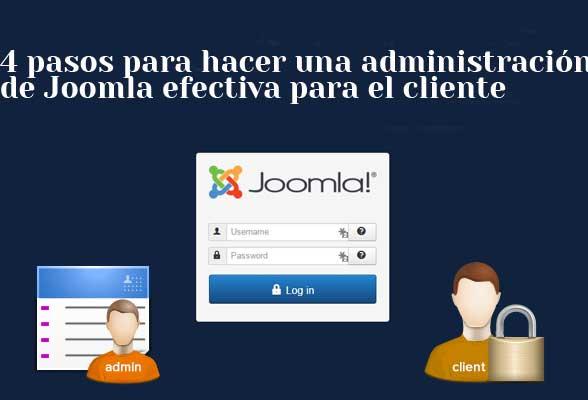 administración de Joomla para el cliente