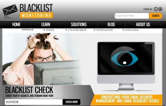 Blacklist Monitoring
