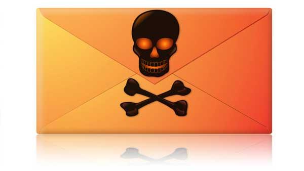 malware en adjunto PDF del correo electrónico
