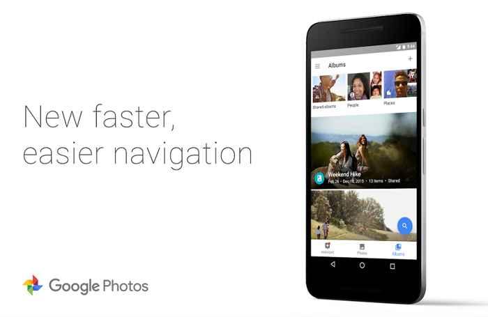 aplicación de Google Fotos para Android