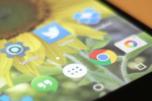 iconos Google Chrome para Android