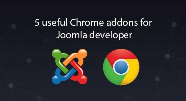 extensiones de Chrome para desarrolladores de Joomla