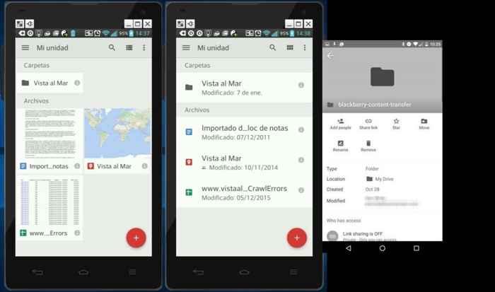 Google Drive Mi unidad