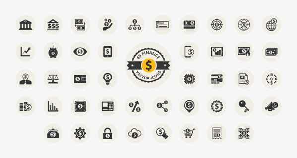 iconos de finanzas gratis