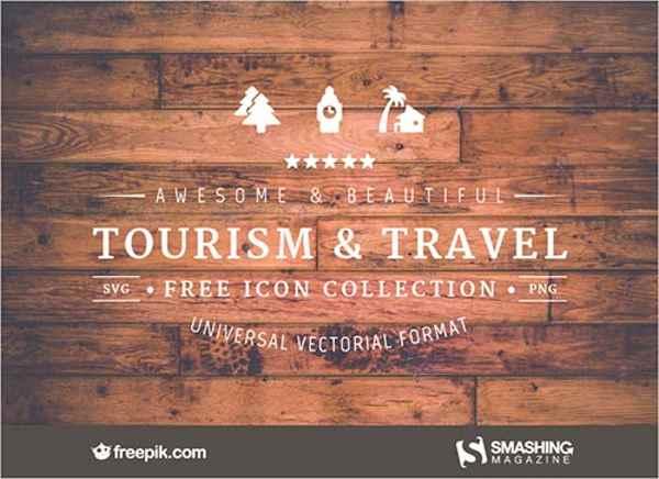 iconos gratis de viajes y turismo