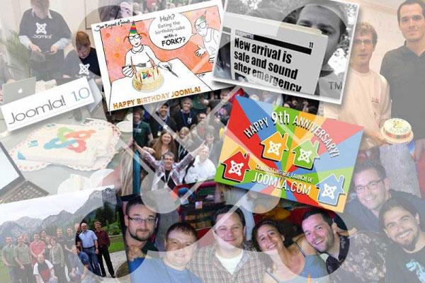 10º aniversario de Joomla!