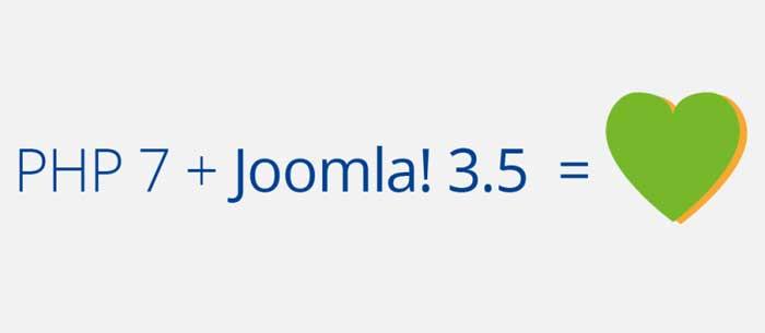Joomla 3.5 con PHP 7