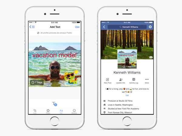Nuevo perfil de Facebook con vídeo