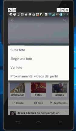 Próximamente: vídeos del perfil en Facebok
