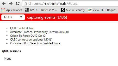 QUIC en Chrome