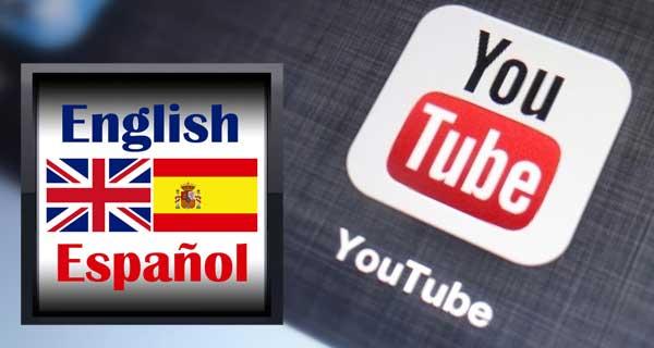 subtítulos de los vídeos en idioma inglés traducidos al español