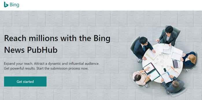 Bing PubHub
