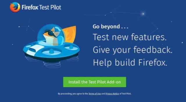 Firefox prueba piloto