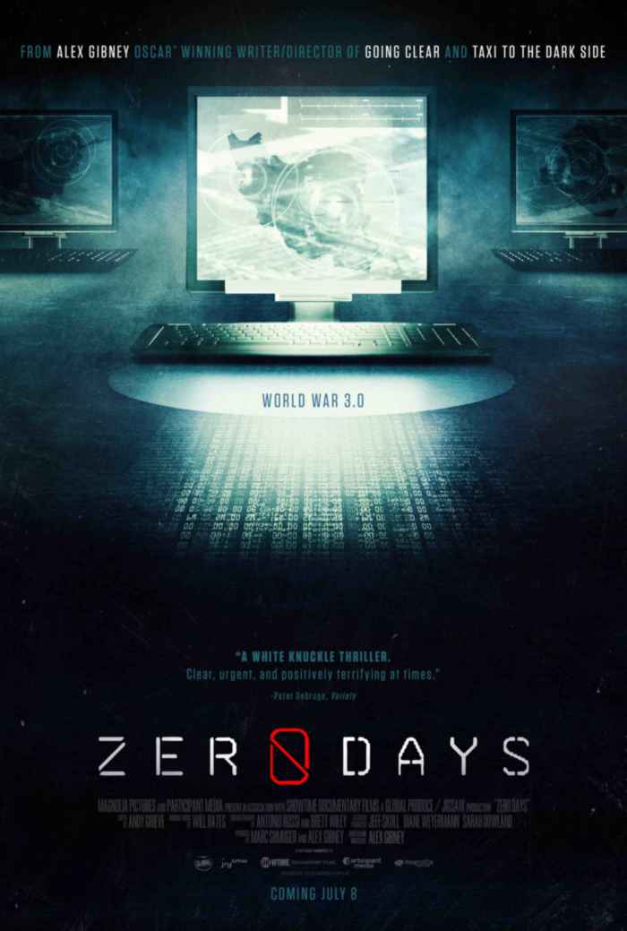 Zero Days, cartel
