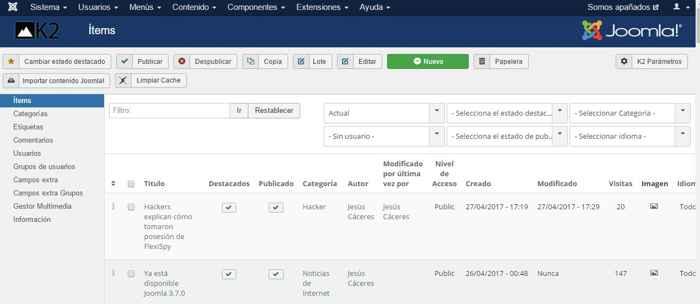 Joomla 3.7.0