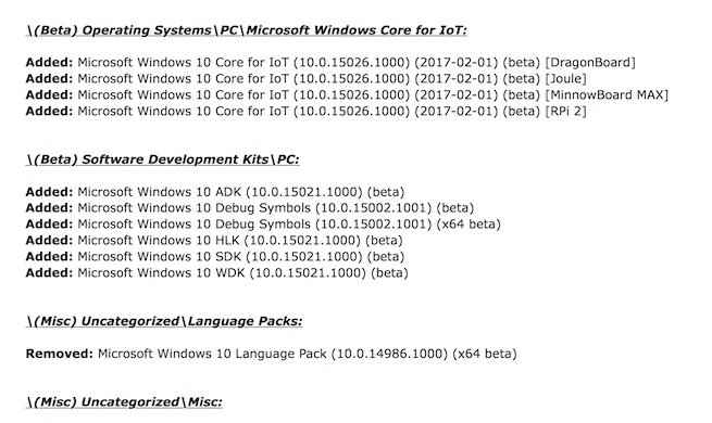 windows 10 core