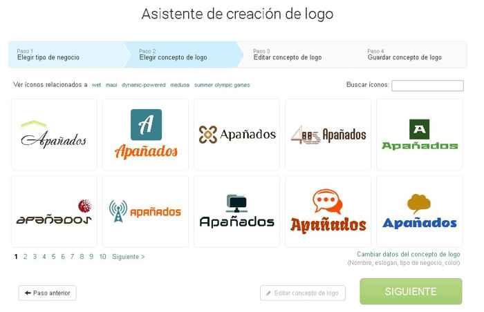 muestras de logotipos