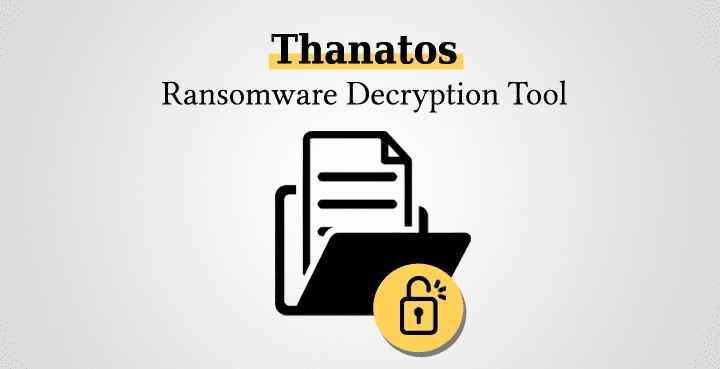descifrado de Thanatos Ransomware