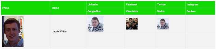 Social Mapper, objetivos en Twitter