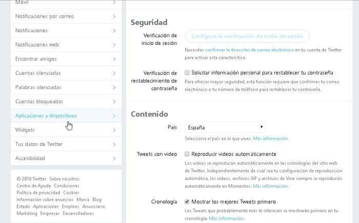 Twitter, Aplicaciones y dispositivos