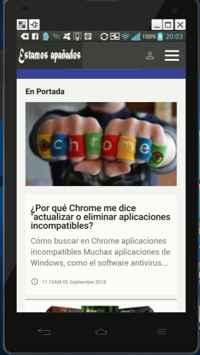 Chrome 69 en el móvil