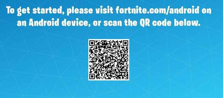 Fornite código QR