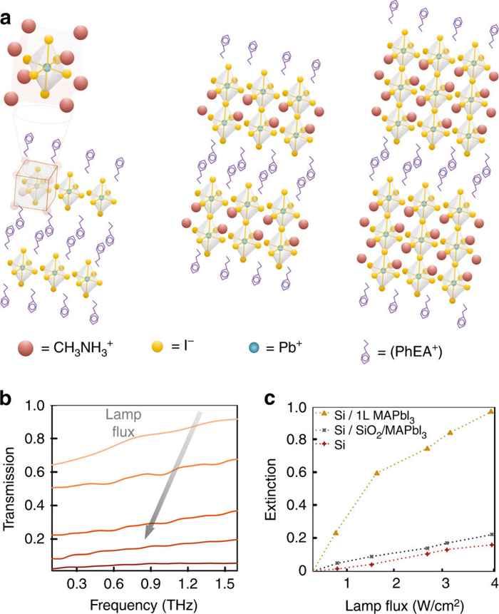 estructura molecular de la Perovskita