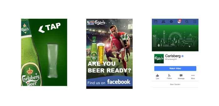 anuncio HTML5 interactivo de Carlsberg