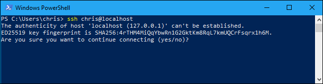 ssh host key