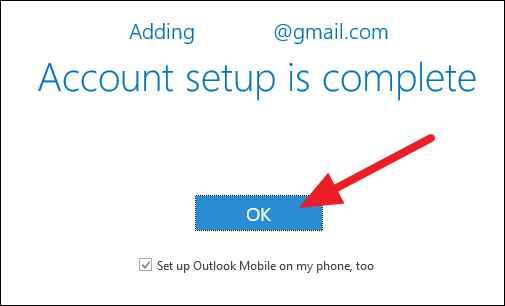 Outlook configuración cuenta móvil