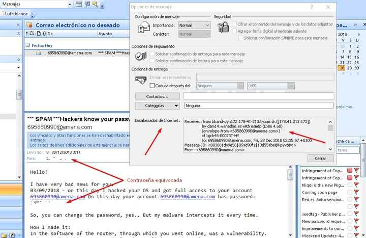ID mensaje de ransomware