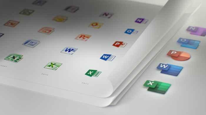 nuevos iconos de Microsoft